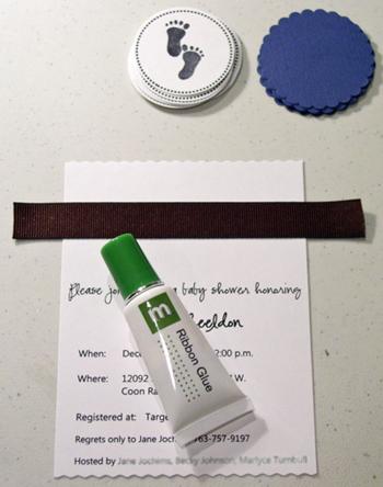 Ribbon-glue