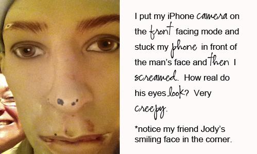 Creepy-face