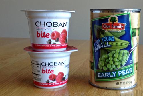 Peas-and-yogurt