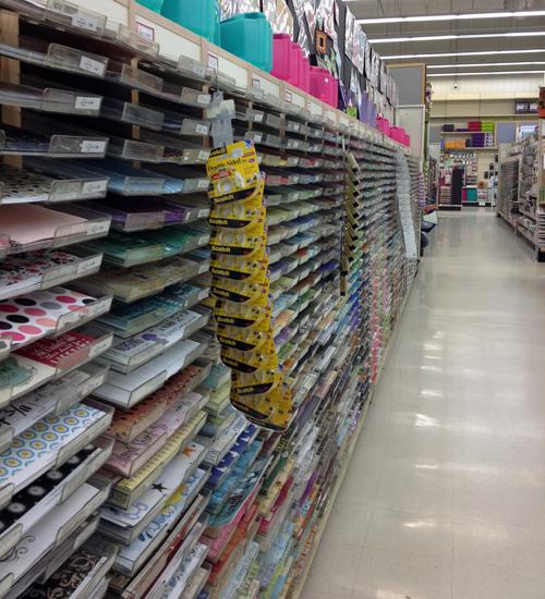 Paper-aisle