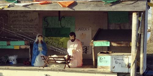 Roadside-stand