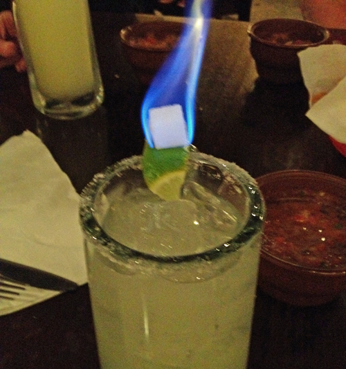 Flaming-drink