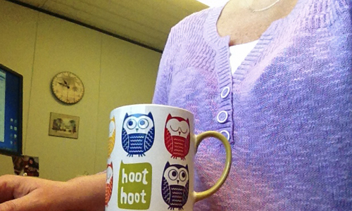 Hoot-mug
