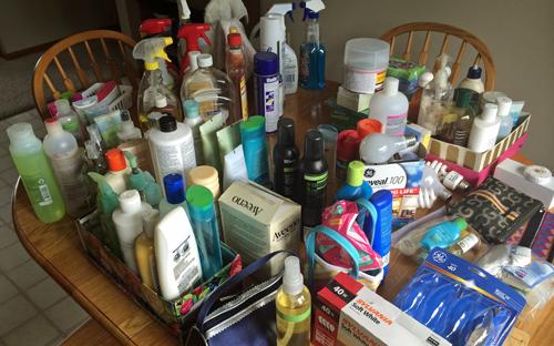 Closet-emptied