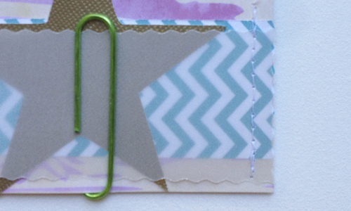 Star-card-stitching
