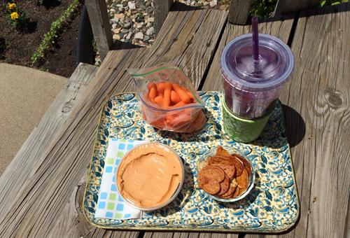 Lunch-outside