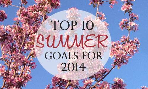 Summer-goals