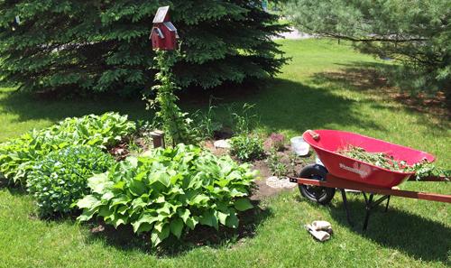 Weeding-garden