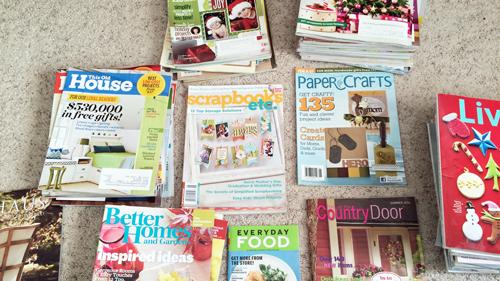 Magazines-sorted