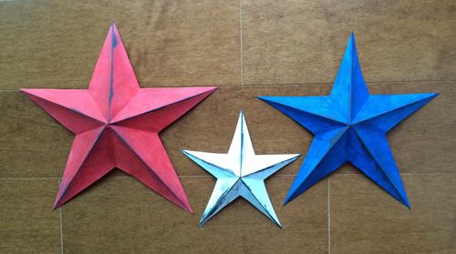 Paper-stars-on-floor