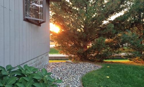Sunset-on-house