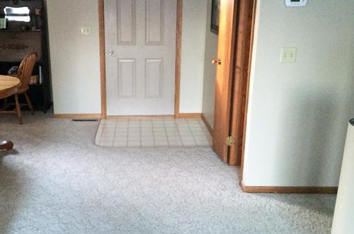 Carpet-to-door